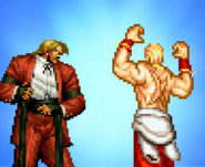 Rugal bernstein + geese howard bros