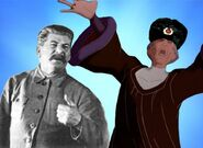 Dmitri Frollo and Stalin Bros