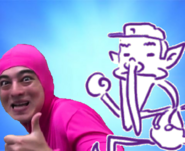 Pink guy + best waluigi bros