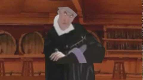 Frollo Beats Up Evil Residents