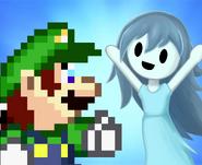 Luigi + spooky brosista