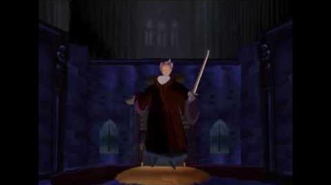Frollo Gets Flashed by a Gothic Lolita