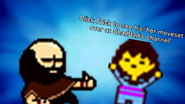 Brad And Frisk Bro Pose