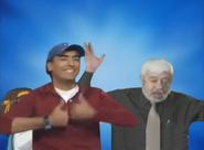 Jaime Maussan and Adal Ramones bros pose