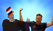 Willem Frollo and Louis van Gaal Bros pose