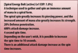 Spiral Energy Bolt