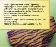 Ogre Tiger skin Panties