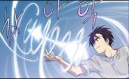 Spinning mana arrow