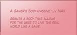 Gamer's Body