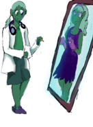 Apatite and Obsidian (Thanks Hydra!)