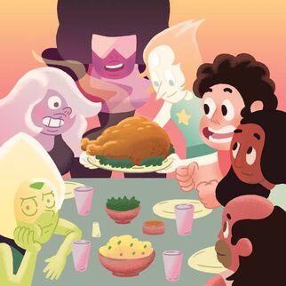 Steven Universe Thanksgiving