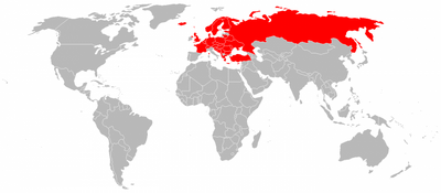 User countries