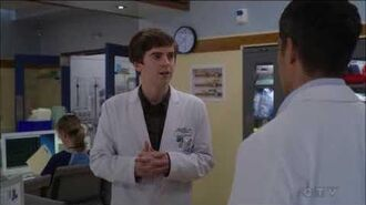 The Good Doctor 1x12 'I will notify Dr Melendez next time i go on a road trip with my girlfriend'