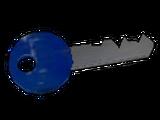 Ключ от навесного замка