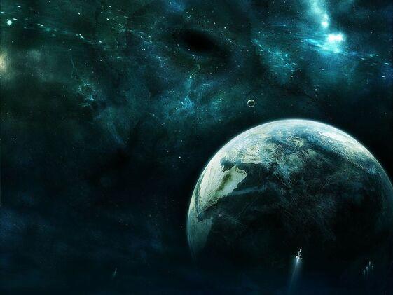 Future Earth Wallpaper k1syy