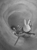 Picket slides down Captain Moonlight's secret tunnel ER