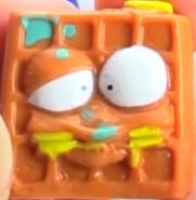 Awful Waffle Brown Figure