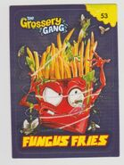 Fungus fries sticker card