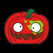 Puking Pumpkin Red