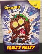 Faulty malty card