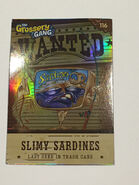 Slimy Sardines Card