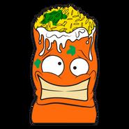 Burp-rito Orange