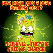 Flat battery facebook