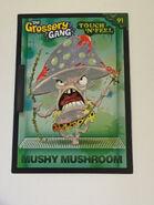 Mushy mushroom touch n feel card
