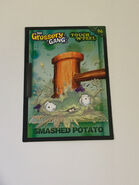 Smashed potato touch n feel card