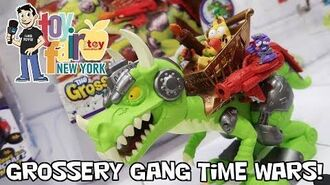 Grossery Gang Time Wars and Bug Strike New Figures at New York Toy Fair 2018