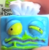Snot Good Tissues Blue Figure