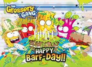 Grossery gang birthday facebook pic