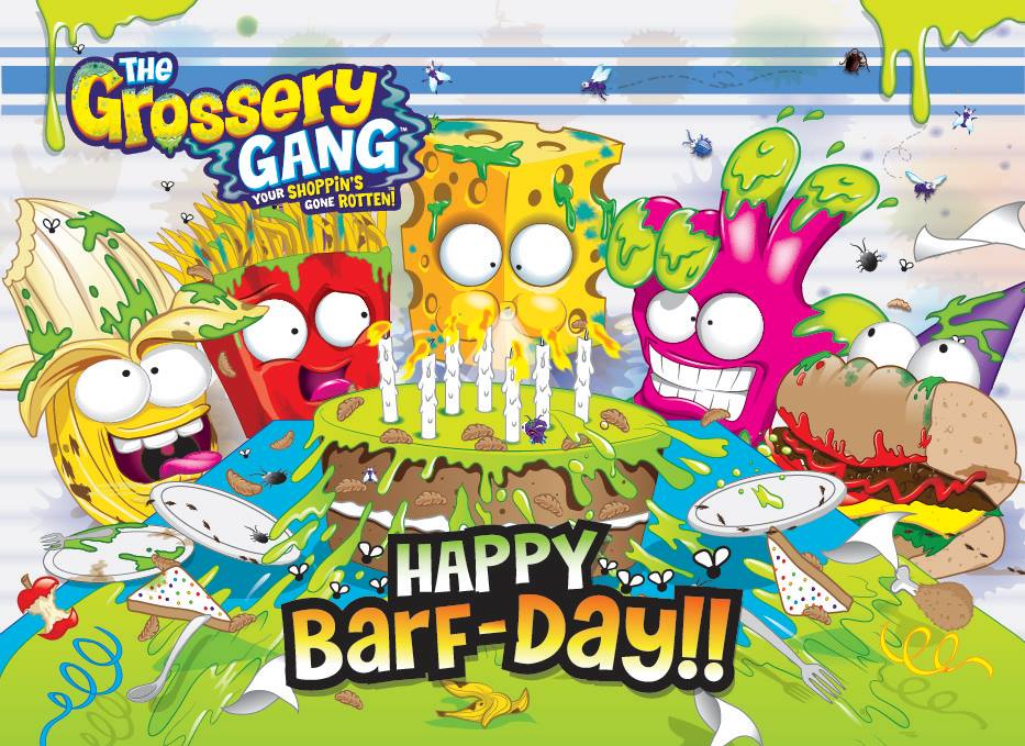 Image - Grossery gang birthday facebook pic.jpg | The Grossery Gang ...