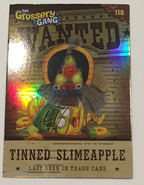 Tinned slimeapple card