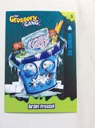 Ice scream collector card