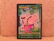 Puking Pumpkin Card