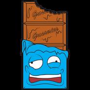 Crusty Chocolate Bar Blue