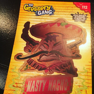Nasty Nacho Heat Reveal Card