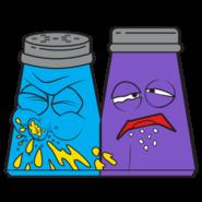 Snot N Pepper Blue Purple