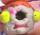 Dodgey Donut Gray Figure