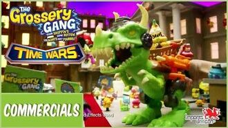 The Grossery Gang Series 5 TIME WARS Playset 15s TVC