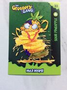 Sour pineapple card
