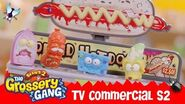Grossery Gang Official Series 2 Horrid Hotdog Machine TV Commercial Toys for Children