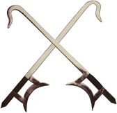 Swords chinese twin hook