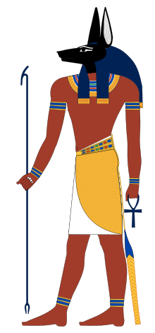 Anubis protector of the dead