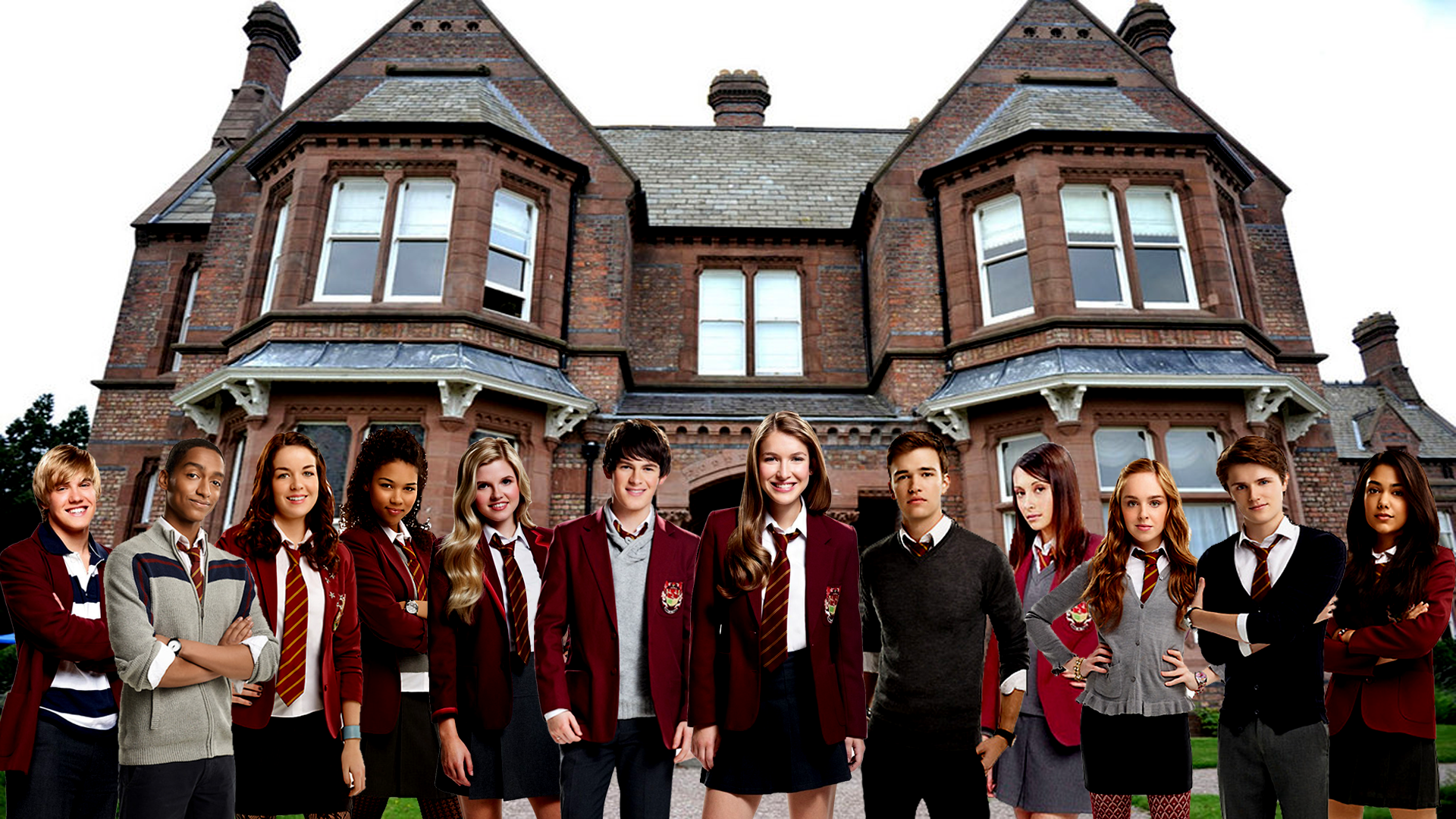 House Of Anubis Wallpaper With Nina Mick.png