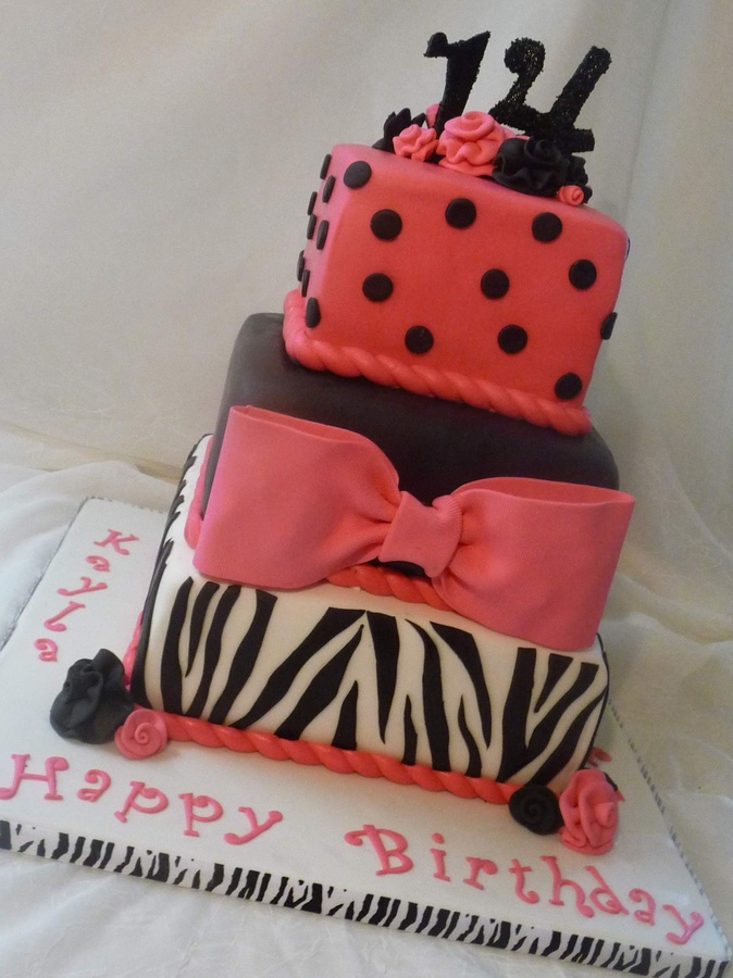 14 Year Old Birthday Cake Ideas Image Collections
