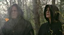 Arlène and Kai as druids