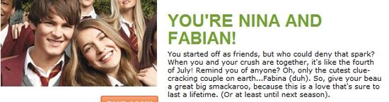 Fabian and Nina I am