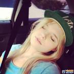 Ana sleeping